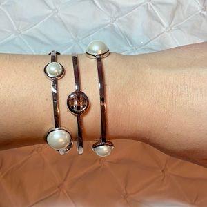 henri bendel Jewelry - Henri Bendel No. 7 Multi-Stone Bangles